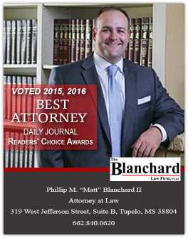 Matt Blanchard Attorney at Law | Readers's Choice Awards Winner